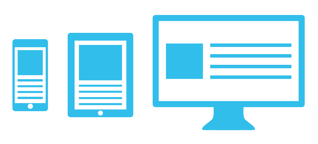 Responsive Webdesign voor Mobiel, Tablet en PC