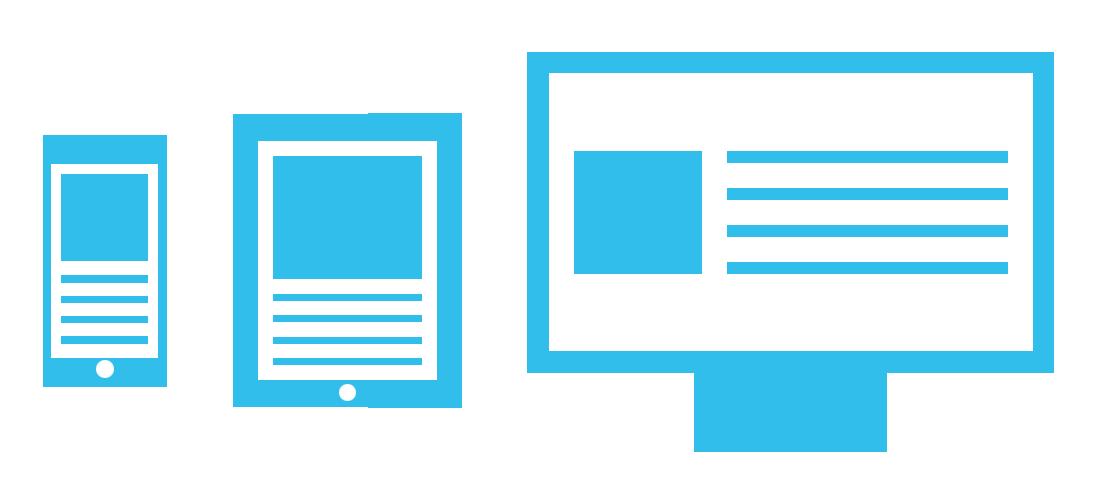 Responsive Webdesign voor Mobiel, Tablet en PC