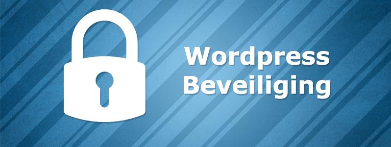 Wordpress Beveiliging