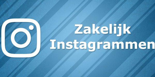 Zakelijk Instagram